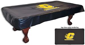 Holland Central Michigan Univ Billiard Table Cover