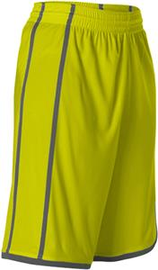Alleson 535PW Women's Plaited Basketball Shorts