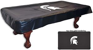 Holland Michigan State Univ Billiard Table Cover