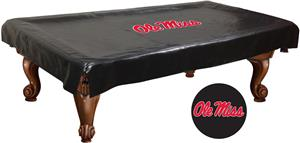 Holland Univ of Mississippi Billiard Table Cover