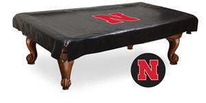 Holland Univ of Nebraska Billiard Table Cover