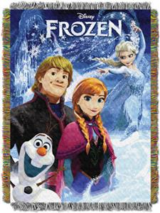 Northwest Disney A Frozen Day Throw Tapestry