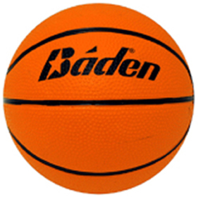 Baden Fun Micro Mini Star Size 1 Rubber Basketball