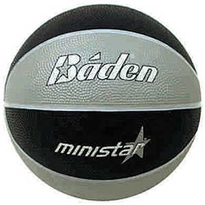 Baden Camp MiniStar #3 Rubber Basketball B51-07