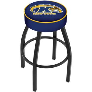 Holland Kent State Univ Black or Chrome Bar Stool