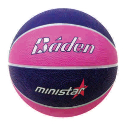Baden Camp MiniStar #3 Rubber Basketball B51-09