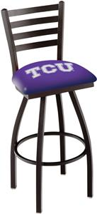 Holland Texas Christian U Ladder Swivel Bar Stool