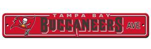 BSI NFL Tampa Bay Buccaneers Plastic Street Sign