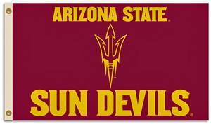 BSI NCAA Arizona State 3' x 5' Flag w/Grommets