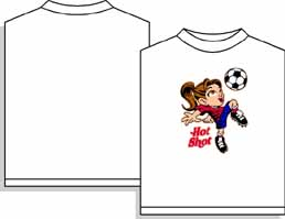 CLOSEOUT Hot Shot soccer tshirt