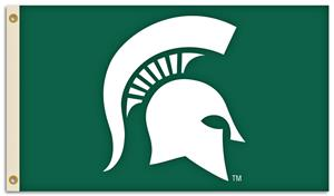 BSI NCAA Michigan State 3' x 5' Flag w/Grommets