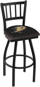 NHL Anaheim Ducks Jailhouse Swivel Bar Stool