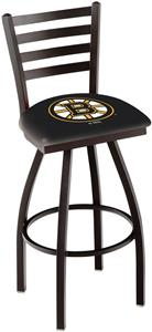 Holland NHL Boston Bruins Ladder Swivel Bar Stool