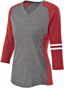 Holloway Ladies Vintage Heather Applaud Shirt