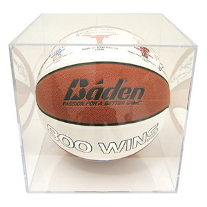 Ball Qube Basketball Plexiglas Display Case