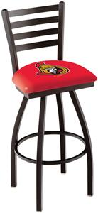NHL Ottawa Senators Ladder Swivel Bar Stool