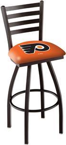 Philadelphia Flyers Orn Ladder Swivel Bar Stool