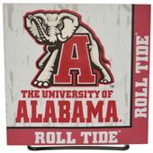 Illumasport Univ of Alabama Light Up Car Sticker