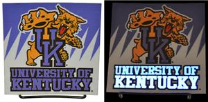 Illumasport Univ of Kentucky Light Up Car Sticker
