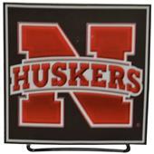 Illumasport Univ of Nebraska Light Up Car Sticker