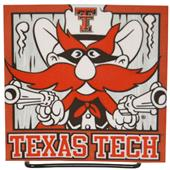 Illumasport NCAA Texas Tech Light Up Car Sticker