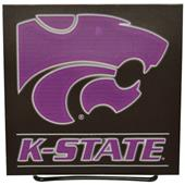 Illumasport NCAA Kansas State Light Up Car Sticker