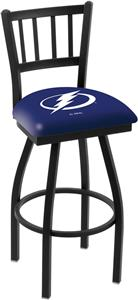 NHL Tampa Bay Lightning Jailhouse Swivel Bar Stool