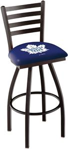 NHL Toronto Maple Leafs Ladder Swivel Bar Stool
