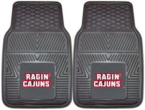 Fan Mats Univ. Louisiana-Lafayette Car Mats (set)