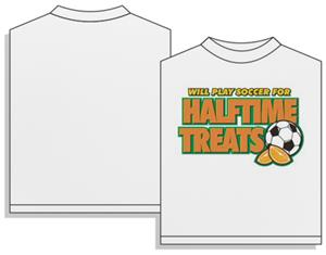 Utopia Halftime Treats Soccer Short Sleeve T-shirt