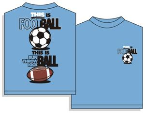 Utopia This Is Football Soccer Short Sleeve Tee