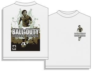 Utopia Modern Warfare Soccer Short Sleeve T-shirt