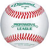 Diamond Professional League Low Flat Seam Baseball