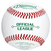 Diamond Intermediate Youth Low Flat Seam Baseballs