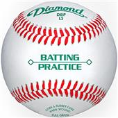 Diamond Batting Practice Low Seam Baseballs