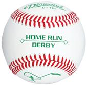 Diamond Home Run Derby Baseball Low Flat Seam