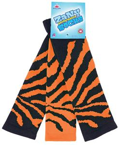 Red Lion Zany Pair & A Spare Tiger Knee High Socks