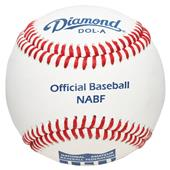 Diamond NABF Official Baseballs DOL-A NABF