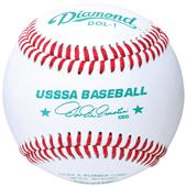 Diamond DOL-1 USSSA Approved Raised Seam Baseballs