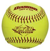 "Diamond Flyer ASA 12"" Fastpitch Softballs"