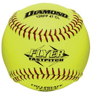Diamond Flyer NFHS College Fastpitch Softballs