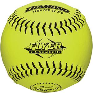 Diamond Black Stitch NSA Flyer Fastpitch Softballs