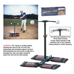 Markwort &quot;Rotor Twin&quot; Baseball Batting Stations