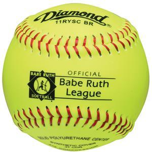 "Diamond 11RYSC BR Babe Ruth 11"" Softballs"