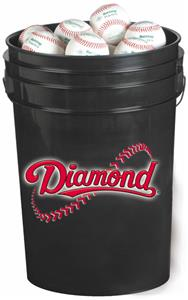 Diamond 6 Gallon Bucket Includes Baseballs