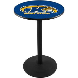 Holland Kent State University Round Base Pub Table