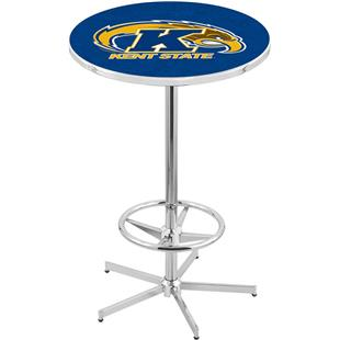 Holland Kent State University Chrome Pub Table