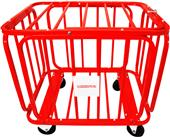 Soccer Wall Big Red Barcelona Soccer Ball Cart