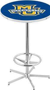 Holland Marquette University Chrome Pub Table