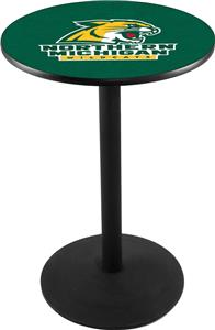 Holland Northern Michigan Uni Round Base Pub Table